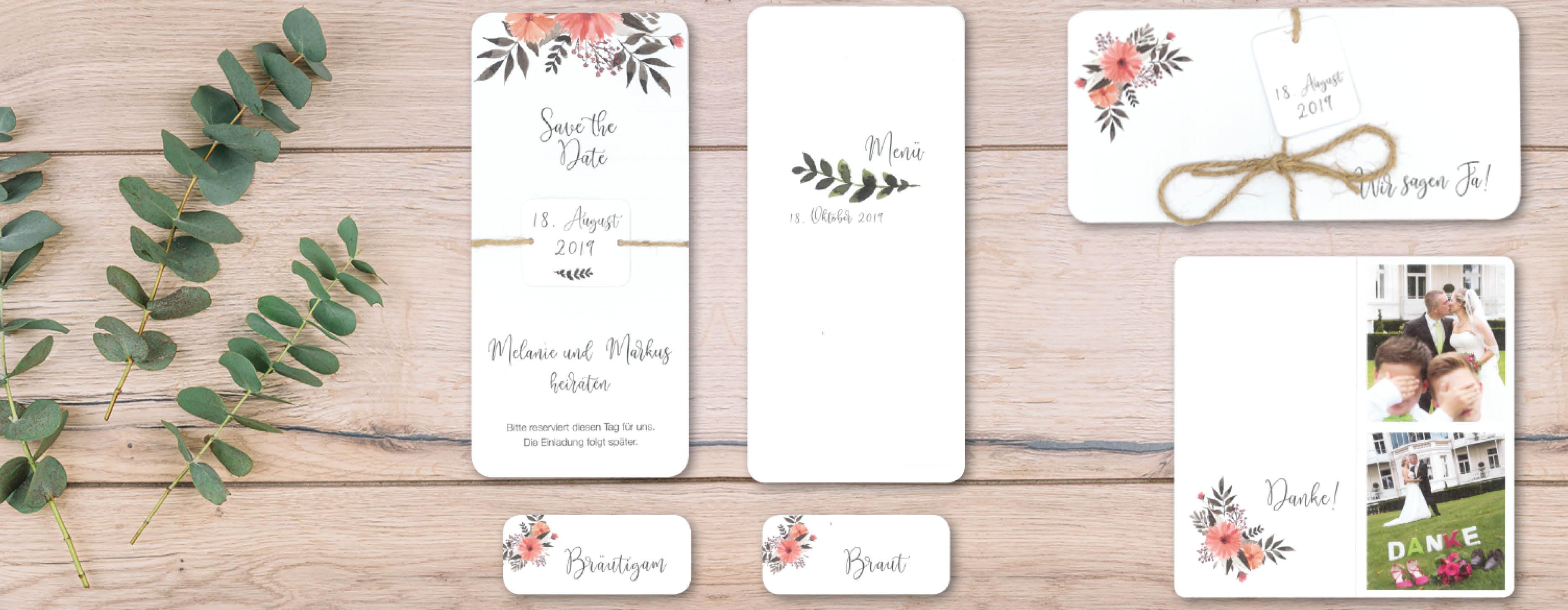 Hochzeitsset-Eukalyptus